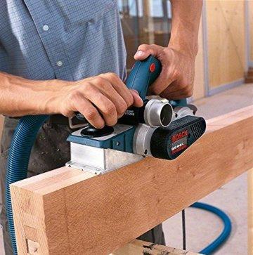 Bosch Professional Hobel GHO 40-82 C (850 Watt, inkl. Falztiefenanschlag, Parallelanschlag, Staubbeutel, Zusatzmesser, im Koffer) - 2