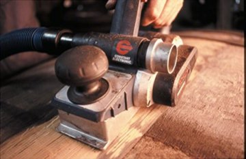 Bosch Professional Hobel GHO 40-82 C (850 Watt, inkl. Falztiefenanschlag, Parallelanschlag, Staubbeutel, Zusatzmesser, im Koffer) - 5