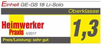 Einhell Akku-Astsäge GE-GS 18 Li – Solo Power X-Change (Lithium Ionen, 18 V, Sägeblattlänge 150 mm Qualitäts-Sägeblatt, werkzeugloser Sägeblattwechsel, abnehmbarer Astbügel, ohne Akku und Ladegerät) - 17