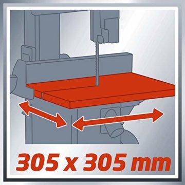 Einhell Bandsäge TC-SB 200/1 (250 W, max. Schnitthöhe 80 mm, Durchmesser Absauganschluss 36 mm, Parallelanschlag, Schiebestock) - 11