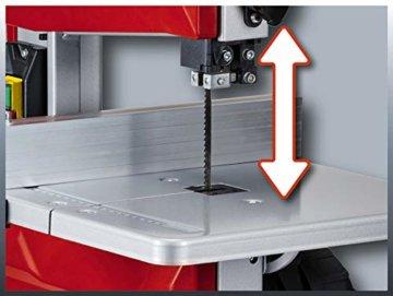 Einhell Bandsäge TC-SB 200/1 (250 W, max. Schnitthöhe 80 mm, Durchmesser Absauganschluss 36 mm, Parallelanschlag, Schiebestock) - 4