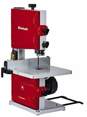 Einhell Bandsäge TC-SB 200/1 (250 W, max. Schnitthöhe 80 mm, Durchmesser Absauganschluss 36 mm, Parallelanschlag, Schiebestock) - 1