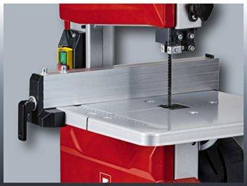 Einhell Bandsäge TC-SB 200/1 (250 W, max. Schnitthöhe 80 mm, Durchmesser Absauganschluss 36 mm, Parallelanschlag, Schiebestock) - 6