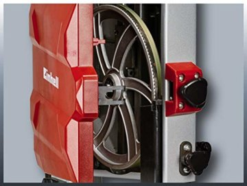 Einhell Bandsäge TC-SB 200/1 (250 W, max. Schnitthöhe 80 mm, Durchmesser Absauganschluss 36 mm, Parallelanschlag, Schiebestock) - 8