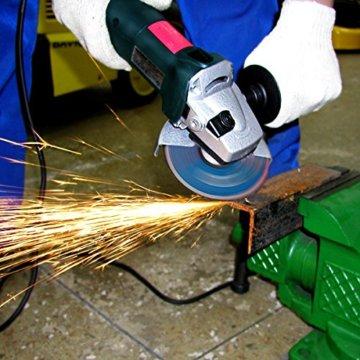 S&R Trennscheibe für Metall, Stahl, Edelstahl/INOX 125x1,0x22,23mm A60 S-BF, Set 25 Stück (Metall, Stahl, Edelstahl), für Winkelschleifer - 3
