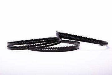 3 SET Encut Hochleistungs Bandsägeblatt 1400 x 6 x 0,65mm, 6 ZpZ Werkzeugstahl Sägeband für Einhell,Atika etc. geeignet für Holz,Sperrholz,Alu,Kunststoff etc. - 1