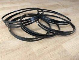 5x Bandsägeblätter 1400mm x 6mm x 0,65 6ZpZ - 1