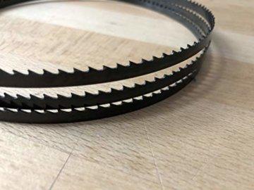 5x Bandsägeblätter 1400mm x 6mm x 0,65 6ZpZ - 2