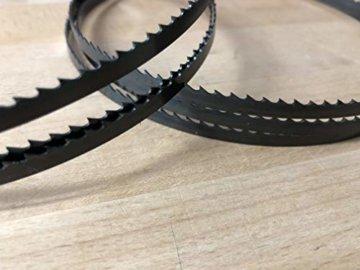 5x Bandsägeblätter 1400mm x 6mm x 0,65 6ZpZ - 3